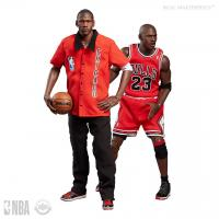 Michael Jordan As Rookie Away Court Final Edition Chicago Bulls Uniform NBA Sixth Scale Collector 2 Figure Pack