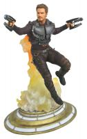 Maskless Star-Lord The Guardians of the Galaxy Marvel Movie Gallery Statue Diorama